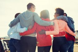 Prison Families Hug